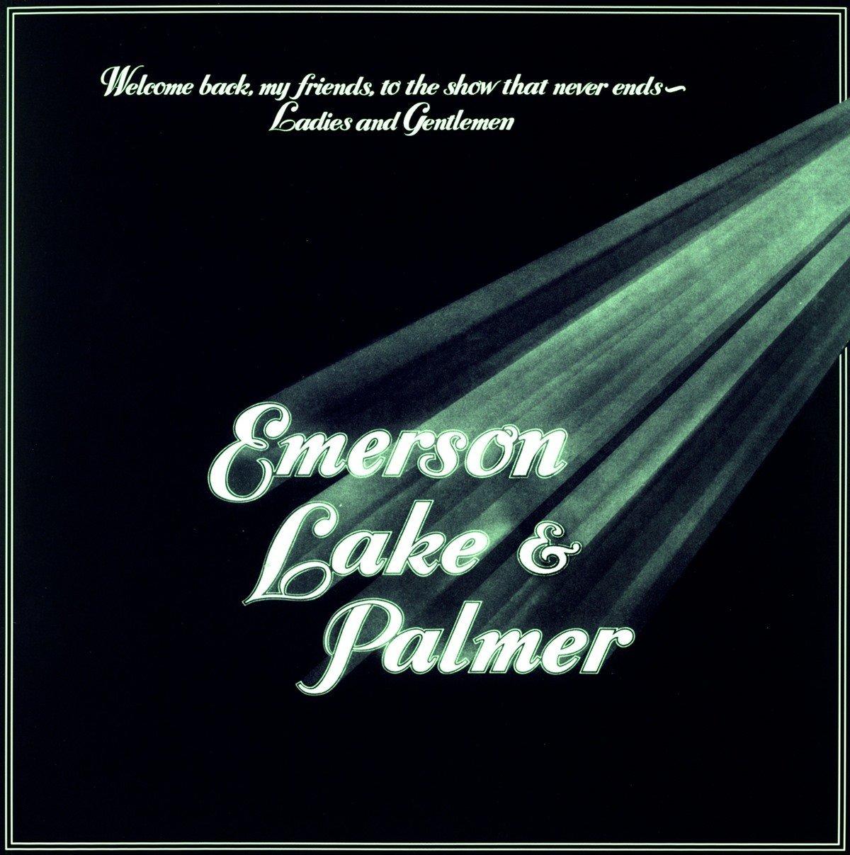 Copertina Disco Vinile 33 giri Welcome Back My Friends to the Show That di Emerson, Lake & Palmer