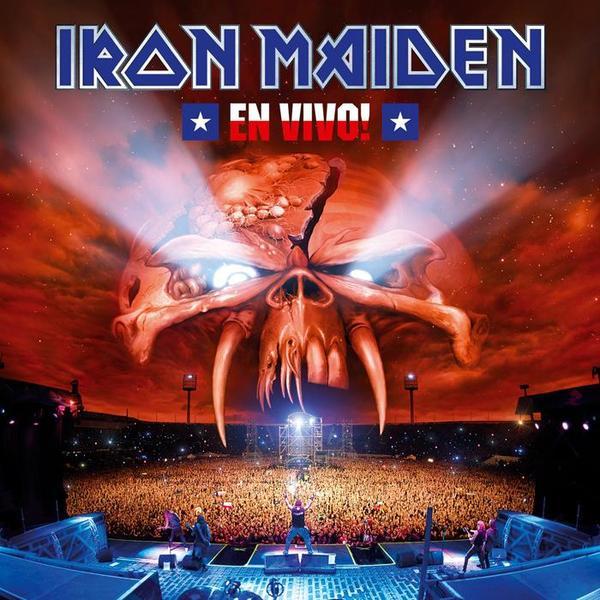 Copertina Vinile 33 giri En Vivo! [2 LP] di Iron Maiden