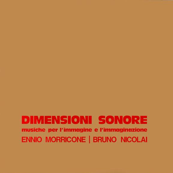 Copertina Vinile 33 giri Dimensioni Sonore [Cofanetto 10LP+10CD] di Ennio Morricone