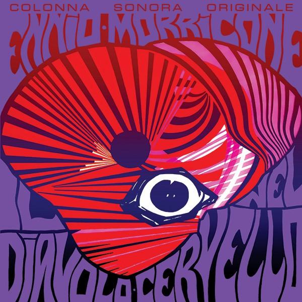 Copertina Disco Vinile 33 giri Il Diavolo nel Cervello [Soundtrack LP] di Ennio Morricone