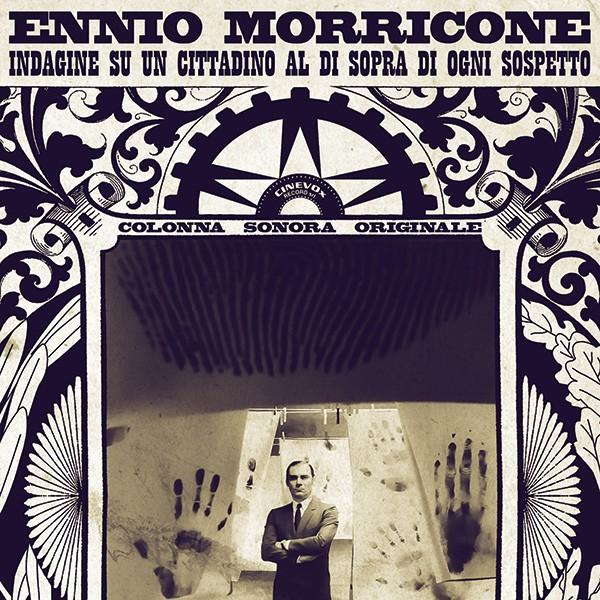 Copertina Disco Vinile 33 giri Indagine su un cittadino al di sopra di ogni sospetto di Ennio Morricone