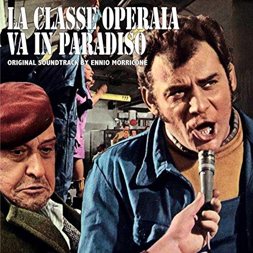 Copertina Disco Vinile 33 giri La Classe Operaia va in Paradiso di Ennio Morricone