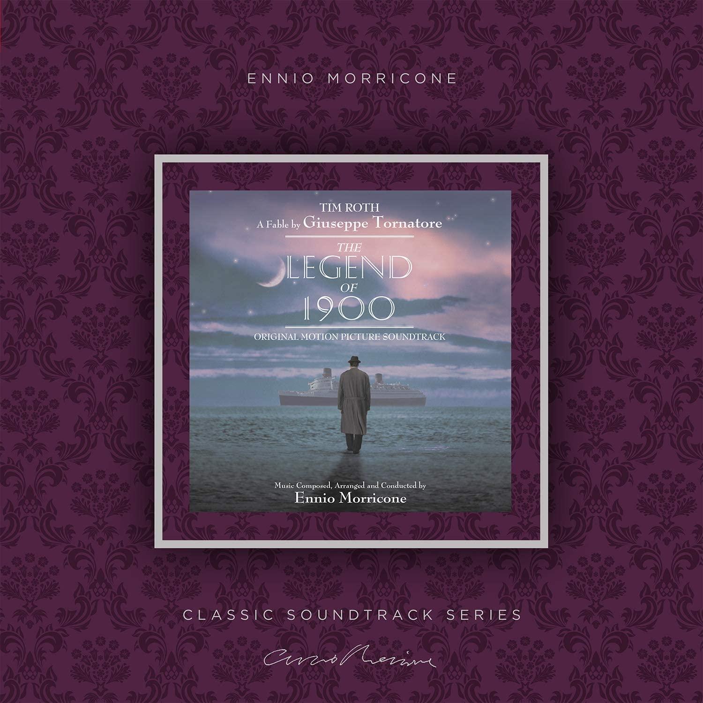 Copertina Vinile 33 giri La Leggenda del Pianista sull'Oceano di Ennio Morricone