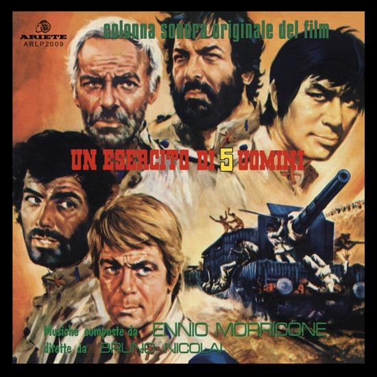 Copertina Vinile 33 giri Un esercito di 5 uomini [Soundtrack LP] di Ennio Morricone