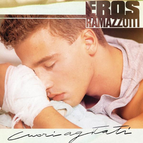 Copertina Vinile 33 giri Cuori Agitati di Eros Ramazzotti