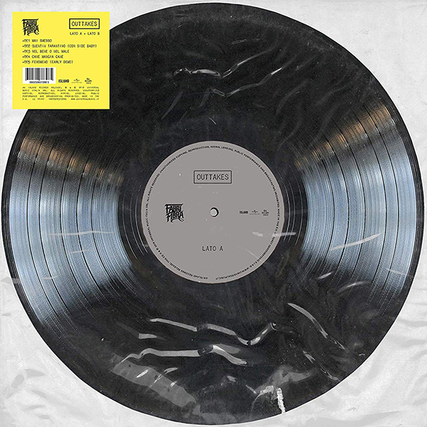 Copertina Vinile 33 giri Il Tempo Vola 2002-2020   Outtakes di Fabri Fibra
