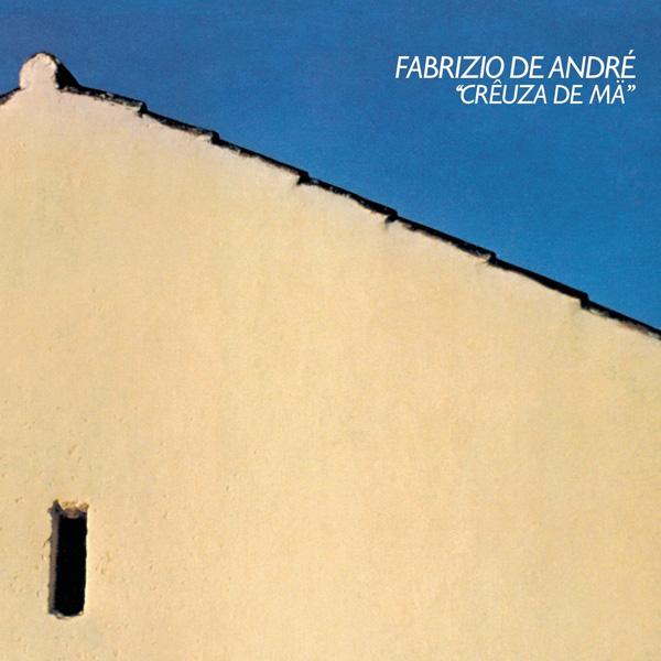 Copertina Disco Vinile 33 giri Creuza De Ma di Fabrizio De Andrè