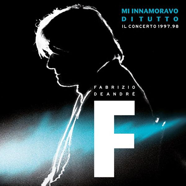 Copertina Disco Vinile 33 giri M'innamoravo Di Tutto: Il Concerto 1998 [3 LP] di Fabrizio de Andrè