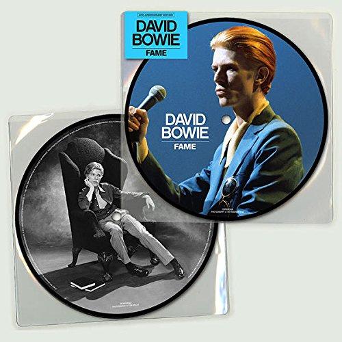 Copertina Disco Vinile 33 giri Fame [Singolo 45 Giri] di David Bowie