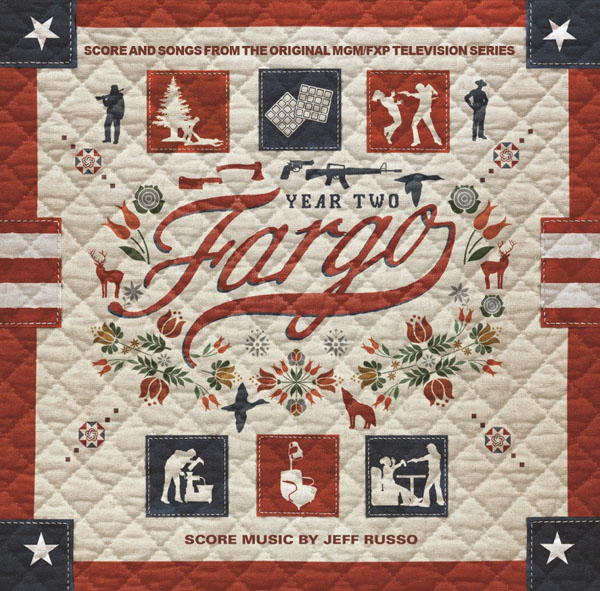 Copertina Disco Vinile 33 giri Fargo - Stagione 2 [Soundtrack 3xLP] di Jeff Russo