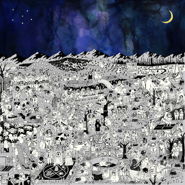 Copertina Vinile 33 giri Pure Comedy [2 LP] di Father John Misty