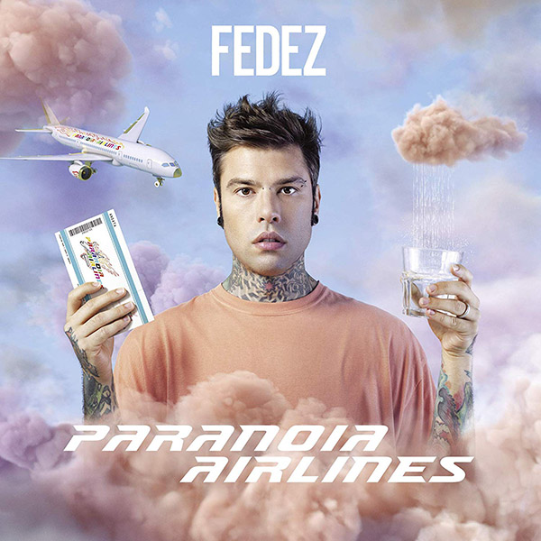 Copertina Vinile 33 giri Paranoia Airlines [2 LP] di Fedez