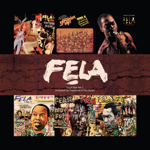 Copertina Disco Vinile 33 giri Vinyl Box Set [Cofanetto 6xLP] di Fela Kuti