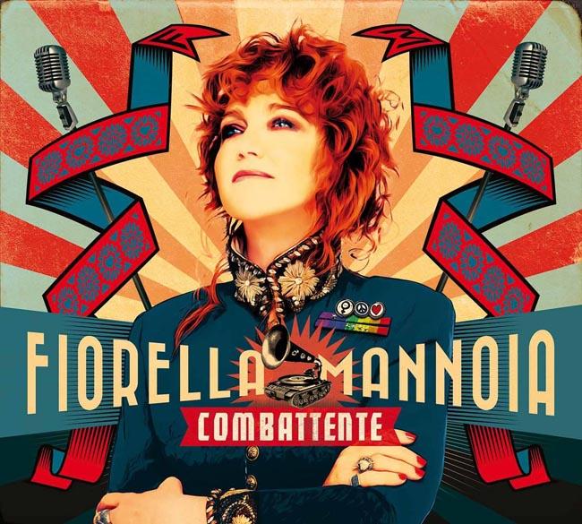 Copertina Disco Vinile 33 giri Combattente di Fiorella Mannoia