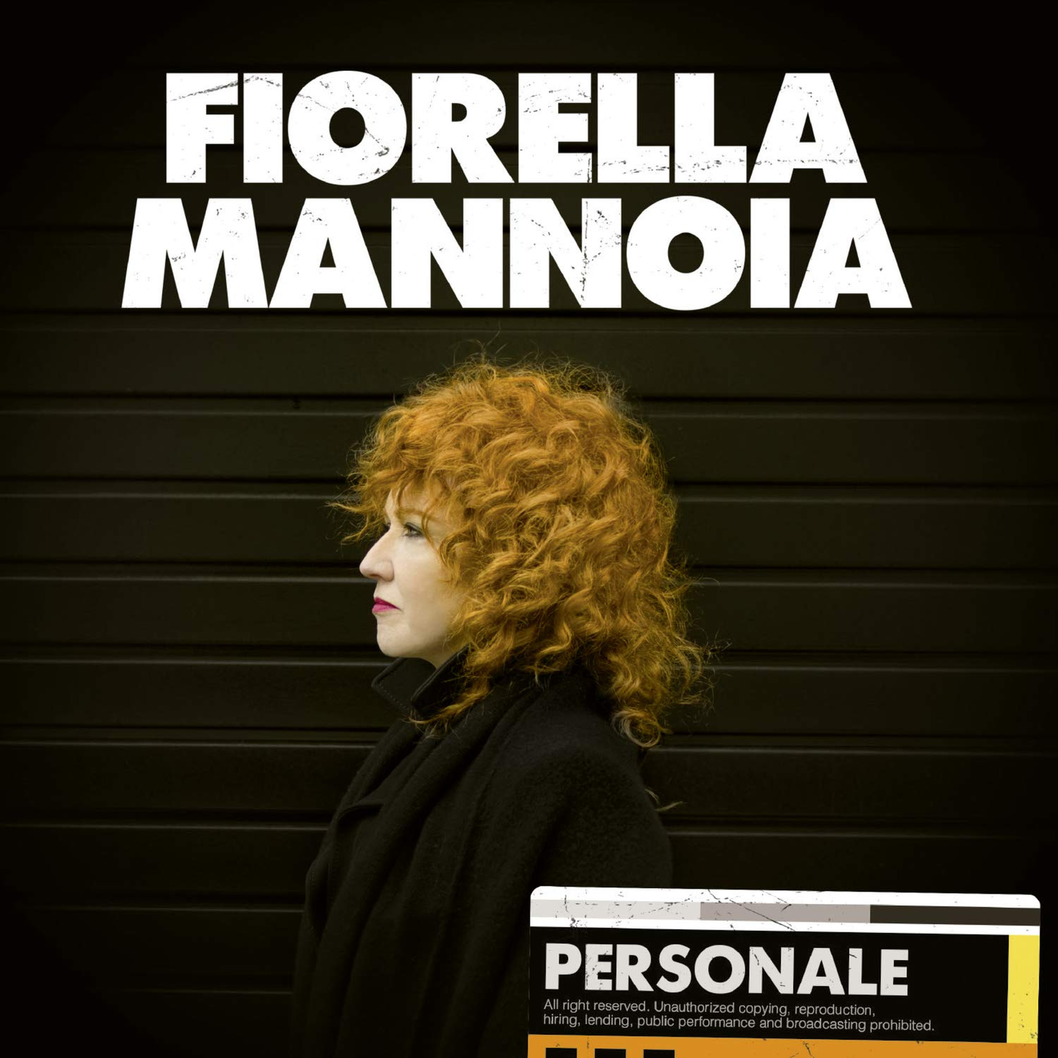 Copertina Vinile 33 giri Personale di Fiorella Mannoia