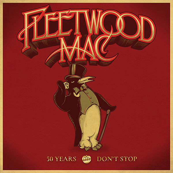 Copertina Vinile 33 giri 50 Years - Don't Stop [Cofanetto 5xLP] di Fleetwood Mac