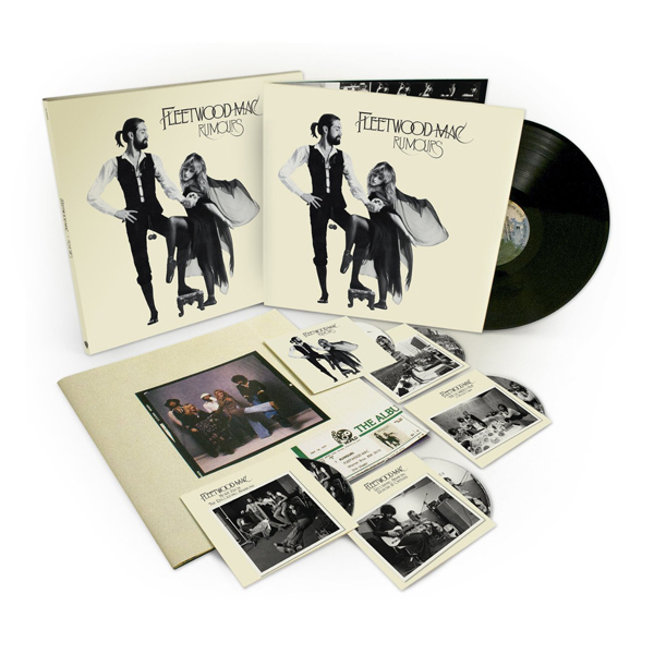 Copertina Disco Vinile 33 giri Rumours Deluxe 35° Anniversario [4CD+DVD+LP] di Fleetwood Mac