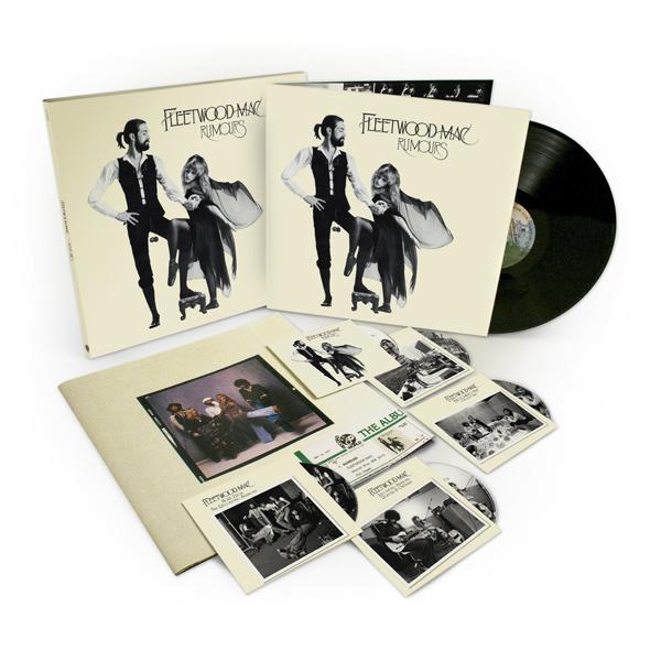 Copertina Disco Vinile 33 giri Rumours Deluxe 35° Anniversario [4CD+DVD+LP] di Fleetwood Mac