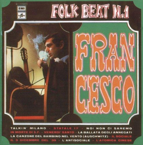 Copertina Disco Vinile 33 giri Folk beat n. 1 di Francesco Guccini