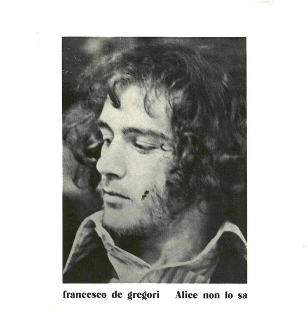 Copertina Disco Vinile 33 giri Alice non lo sa di Francesco De Gregori
