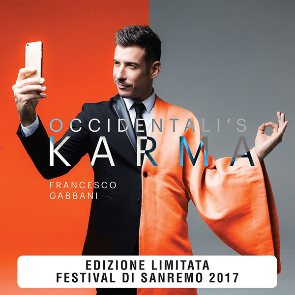 Copertina Vinile Occidentali's Karma [Singolo 45 Giri] di Francesco Gabbani