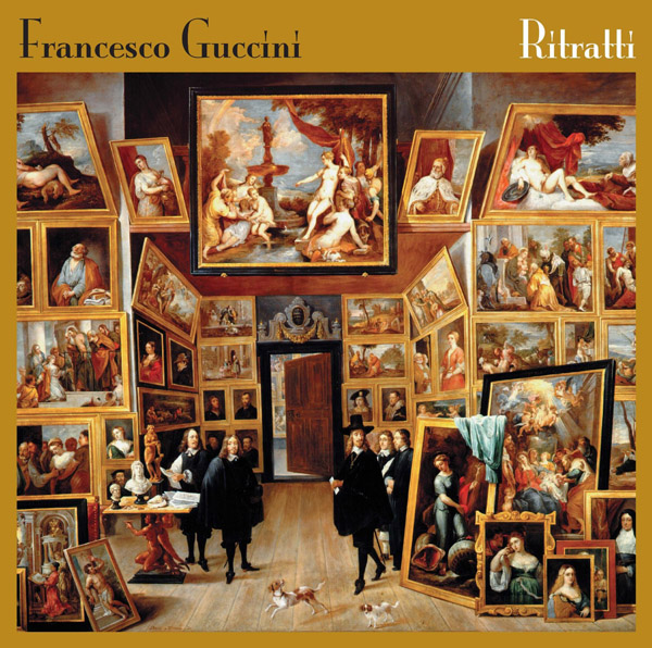Copertina Disco Vinile 33 giri Ritratti di Francesco Guccini