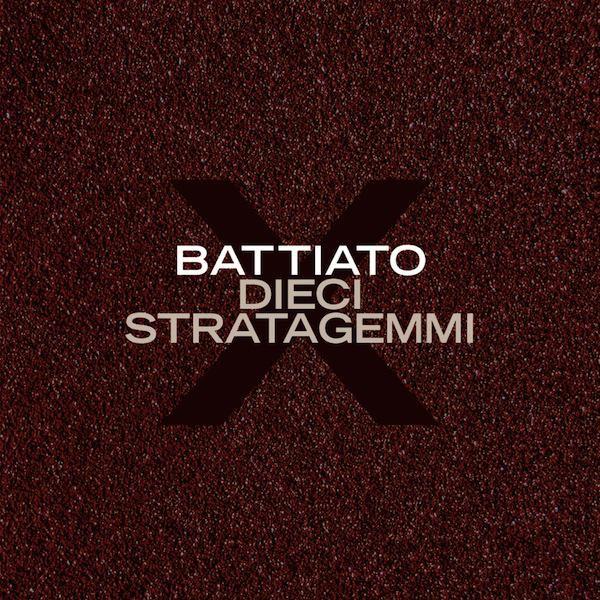 Copertina Disco Vinile 33 giri Dieci stratagemmi di Franco Battiato