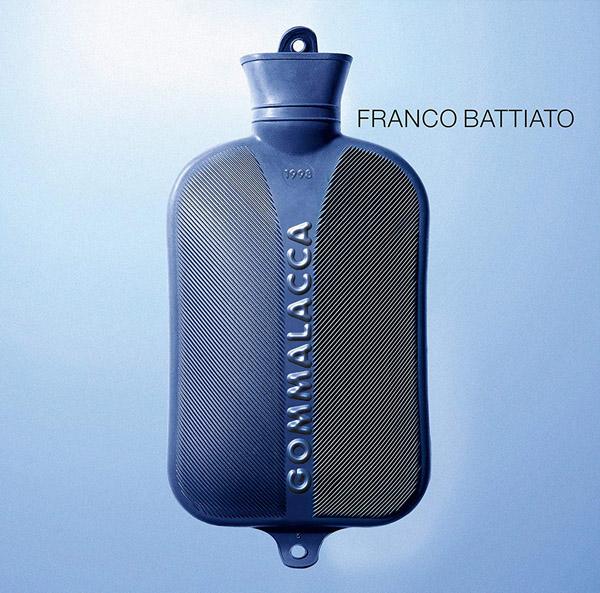 Copertina Vinile 33 giri Gommalacca di Franco Battiato