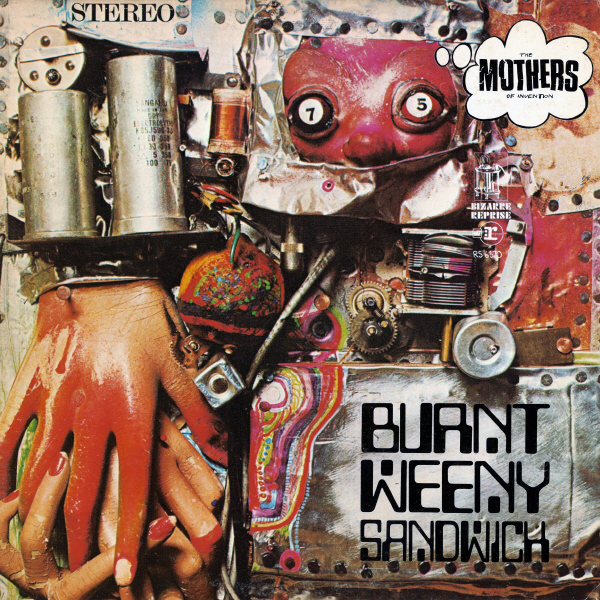 Copertina Vinile 33 giri Burnt Weeny Sandwich di Frank Zappa & The Mothers of Invention
