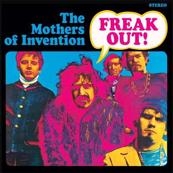 Copertina Disco Vinile 33 giri Freak Out! [2 LP] di The Mothers of Invention (Frank Zappa