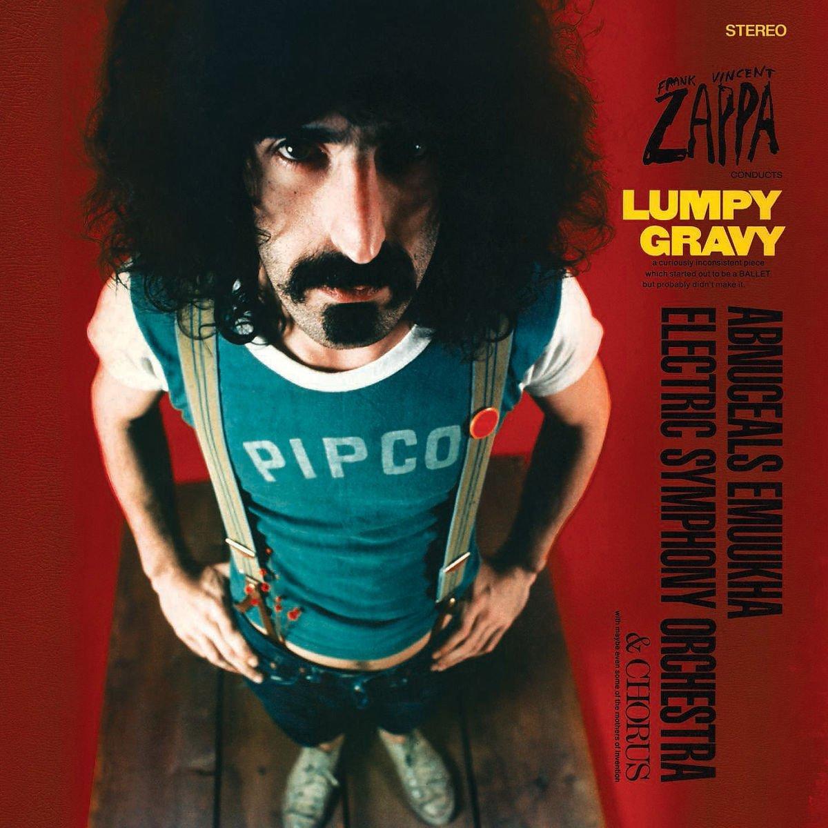 Copertina Disco Vinile 33 giri Lumpy Gravy di Frank Zappa