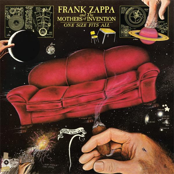 Copertina Disco Vinile 33 giri One Size Fits All di Frank Zappa