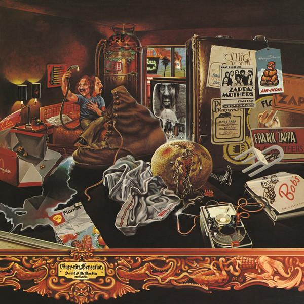 Copertina Disco Vinile 33 giri Over-Nite Sensation di The Mothers of Invention (Frank Zappa