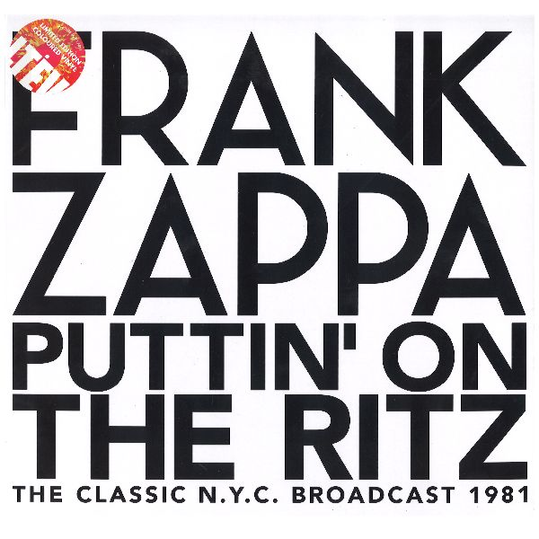 Copertina Disco Vinile 33 giri Puttin' on the Ritz [Cofanetto 4 LP] di Frank Zappa