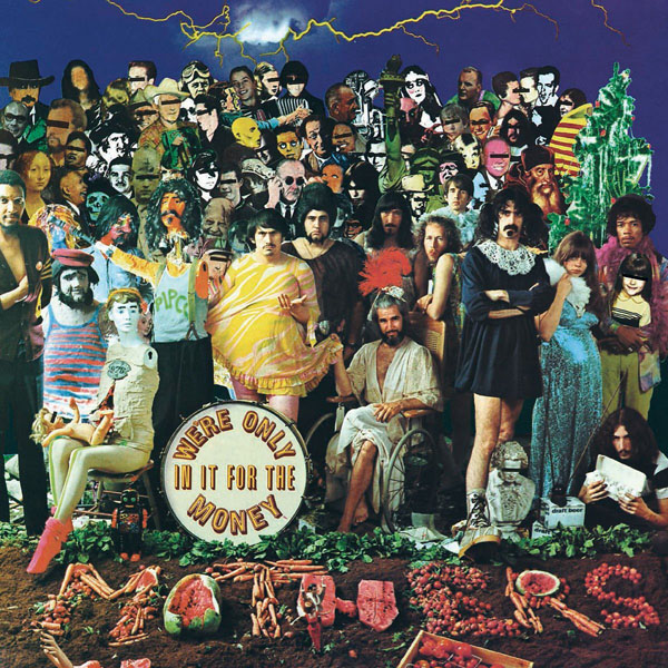 Copertina Disco Vinile 33 giri We're Only in It for the Money di Frank Zappa & The Mothers of Invention