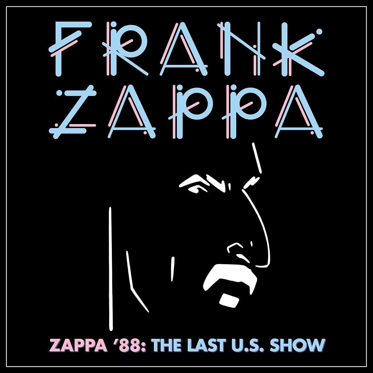 Copertina Vinile 33 giri Zappa '88 | The Last U.S. Show [Cofanetto 4xLP] di Frank Zappa