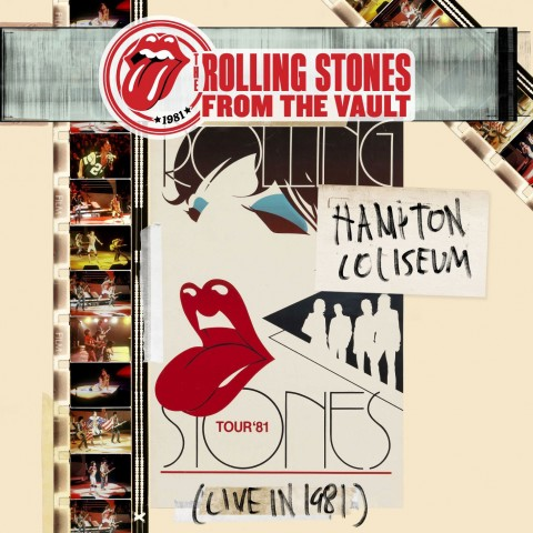 Copertina Disco Vinile 33 giri Hampton Coliseum (Live In 1981) [3xLP + DVD] di The Rolling Stones