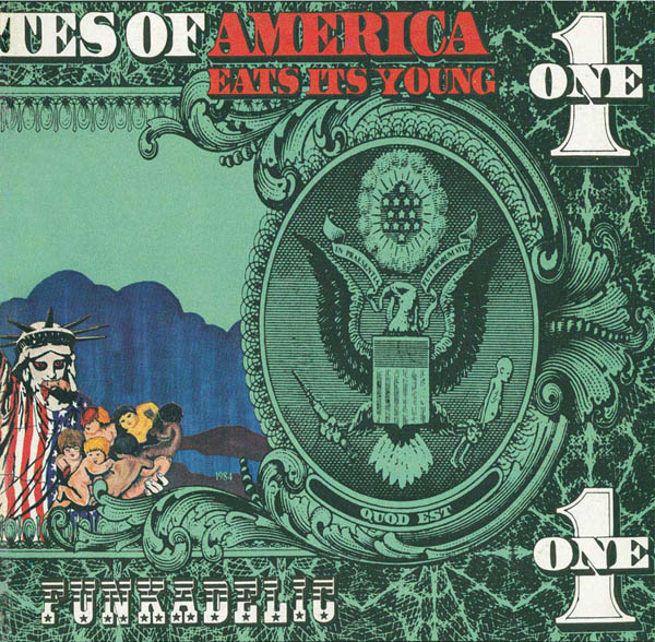 Copertina Disco Vinile 33 giri America Eats Its Young [2 LP] di Funkadelic