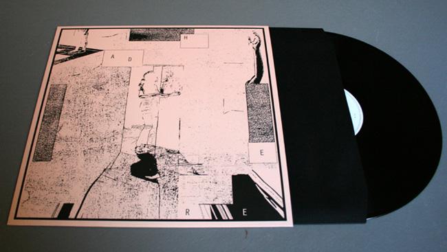 Copertina Disco Vinile 33 giri Adhere di Gabriel Saloman