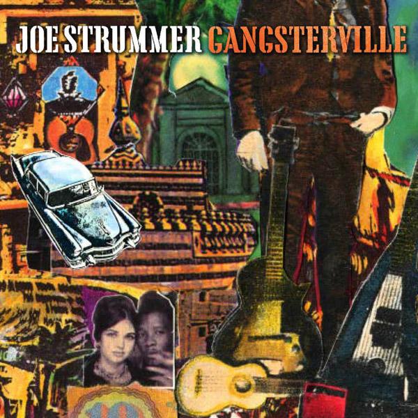 Copertina Disco Vinile 33 giri Gangsterville  di Joe Strummer