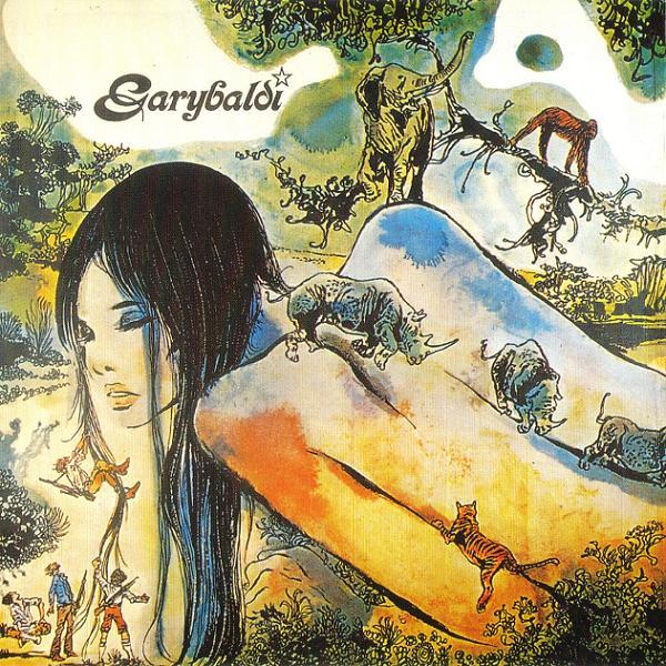 Copertina Disco Vinile 33 giri Nuda di Garybaldi