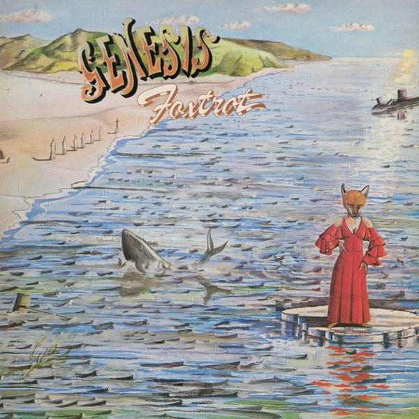 Copertina Disco Vinile 33 giri Foxtrot di Genesis
