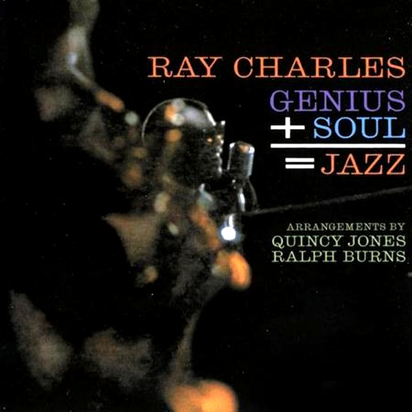 Copertina Disco Vinile 33 giri Genius + Soul = Jazz  di Ray Charles