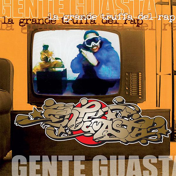 Copertina Disco Vinile 33 giri La Grande Truffa del Rap [2 LP] di Gente Guasta