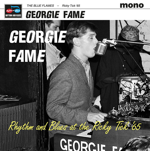 Copertina Vinile 33 giri Rhythm and Blues and Jazz di Georgie Fame