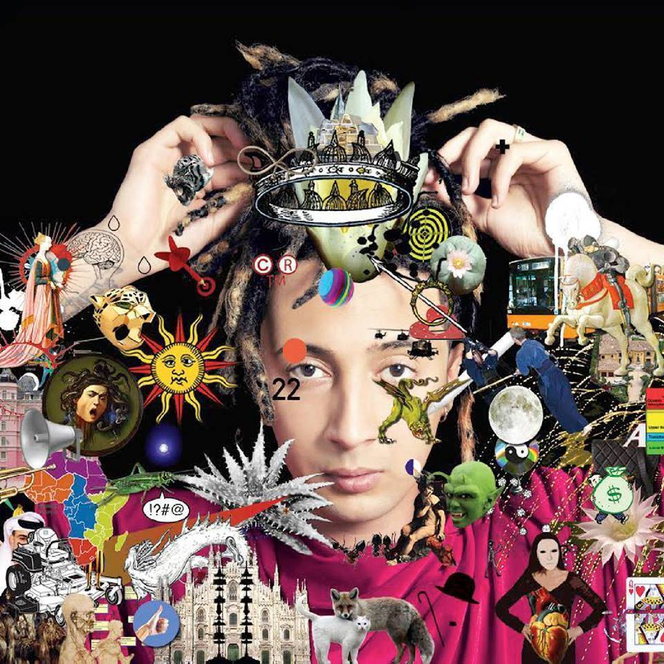 Copertina Vinile 33 giri Album di Ghali