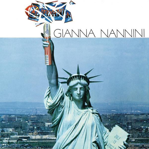 Copertina Vinile 33 giri California di Gianna Nannini