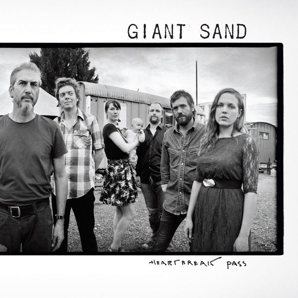 Copertina Disco Vinile 33 giri Heartbreak Pass di Giant Sand