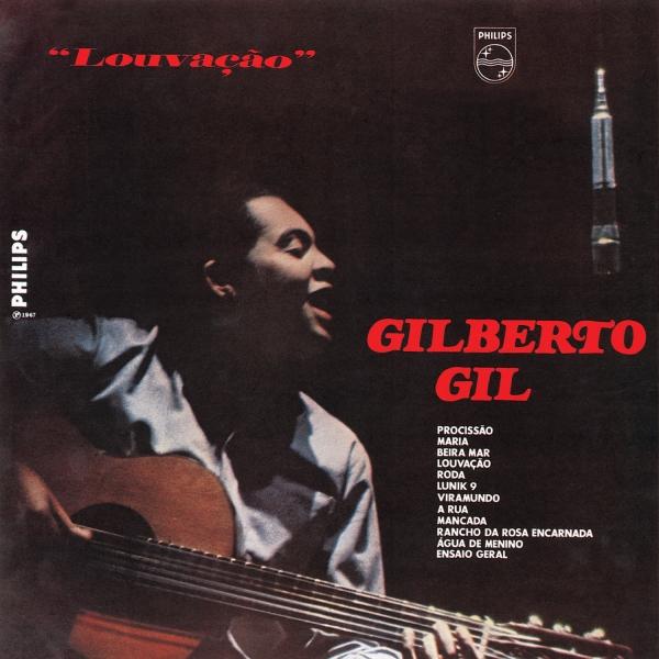 Copertina Disco Vinile 33 giri Louvacao di Gilberto Gil