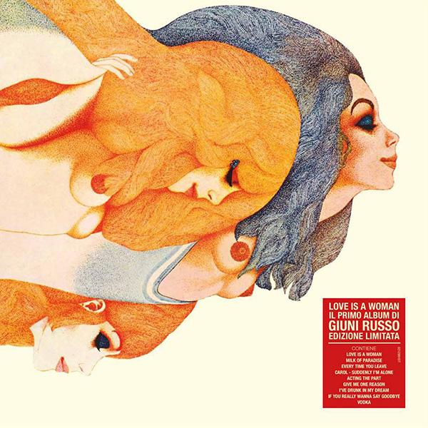 Copertina Vinile 33 giri Love Is A Woman di Giuni Russo